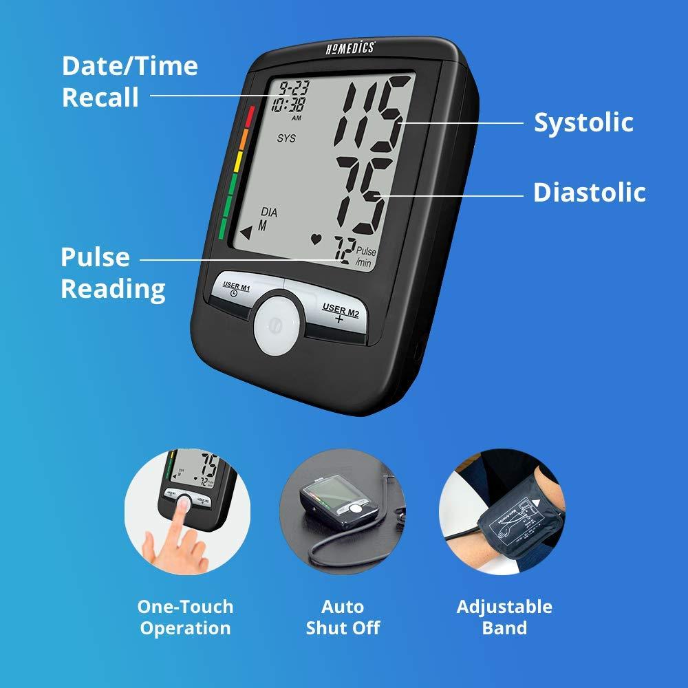 Máy đo huyết áp bắp tay USA HoMedics BPA-0300 công nghệ đo Smart Measure Technology nhập khẩu USA