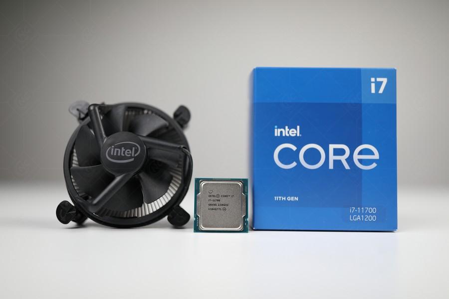 Bộ vi xử lý CPU Intel Core i7 - 11700K thế hệ 11 - Hàng Chính Hãng