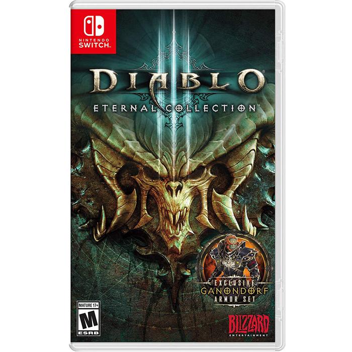 Đĩa Game Diablo III: Eternal Collection Cho Máy Game Nintendo Switch- hàng nhập khẩu