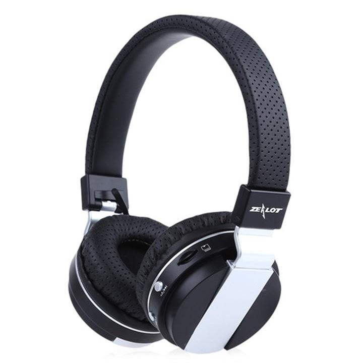 Tai nghe chụp tai bluetooth không dây Zealot nghe nhạc, chơi game, chống ồn hàng chính hãng