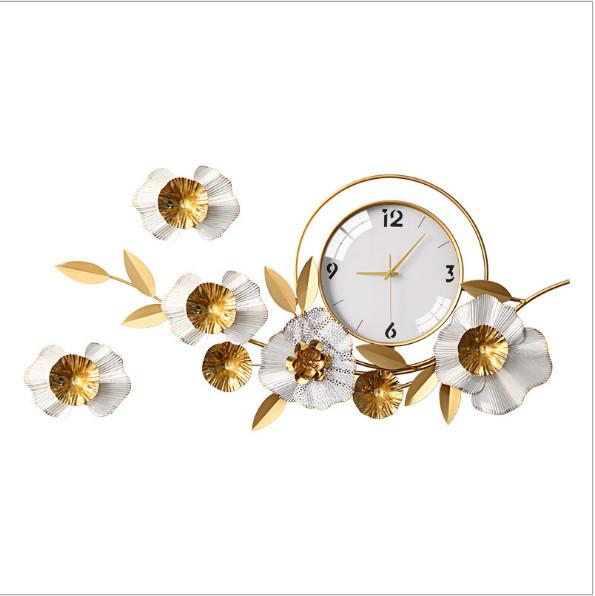Đồng hồ treo tường trang trí C902 Đồng hồ chim công C902  Đồng hồ chim công