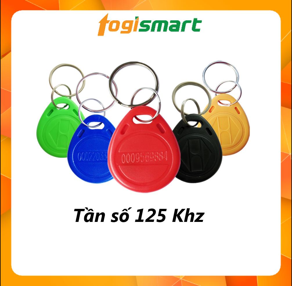 [Set 10 thẻ] Thẻ từ RFID 125 Khz - 13.56 Mhz (loại móc khóa) - Togismart TTM - HÀNG NHẬP KHẨU