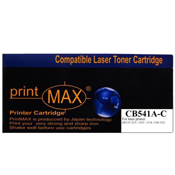Hộp mực in Laser màu Xanh PrintMAX dành cho máy HP CB541A-C – Hàng Chính Hãng