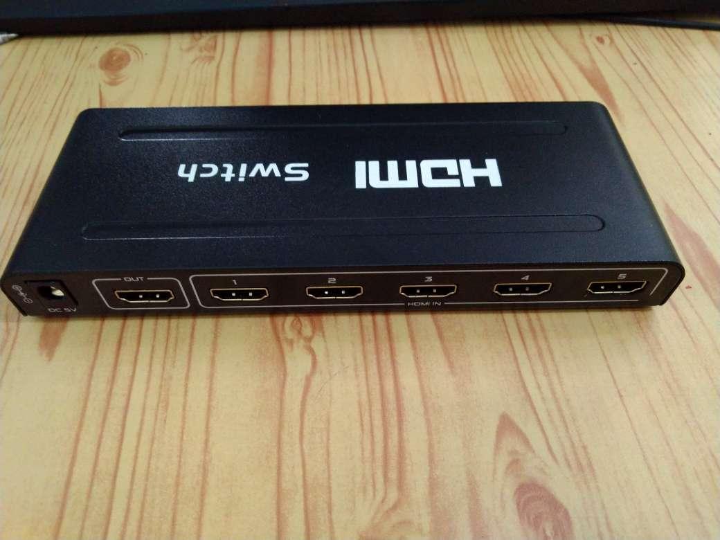 Bộ gộp HDMI 5 vào 1 ra 1080P loại tốt