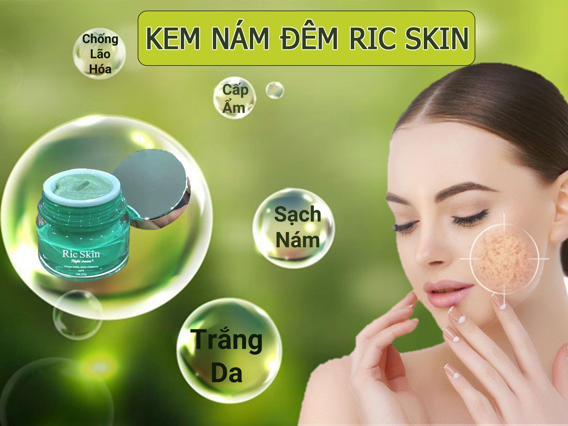 Kem Nám Đêm Ric Skin Kohinoor 30Gr, Giải Pháp Tối Ưu Cho Làn Da Sạm Nám