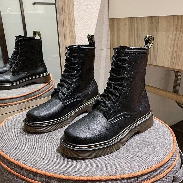 Boot cổ cao dáng basic cho nữ 6677