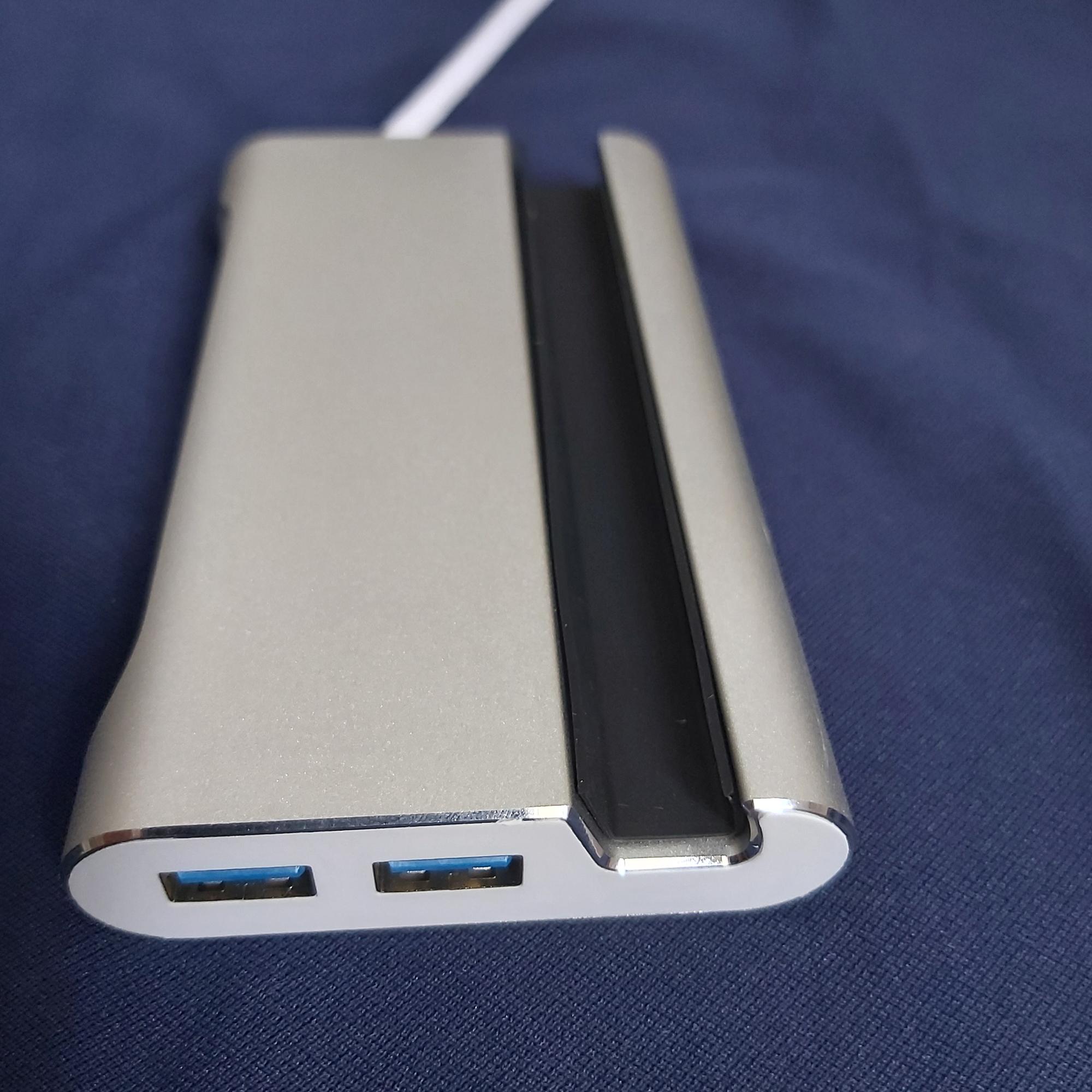 Hub USB Type-C 7 cổng chuyên dụng cho  Samsung Dex - hỗ trợ HDMI/ VGA/ RJ45 sạc nhanh/ USB 3.0 70371