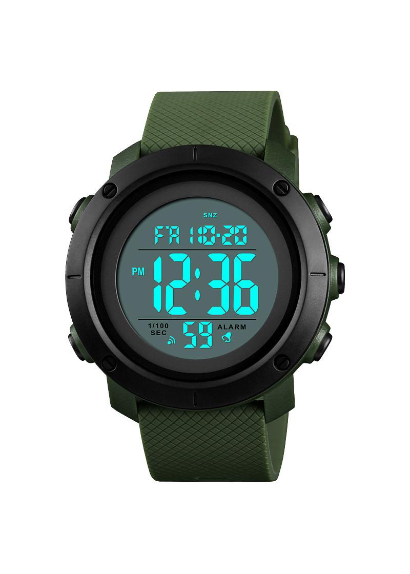 Đồng hồ đeo tay Skmei - 1434AGBK-Hàng Chính Hãng