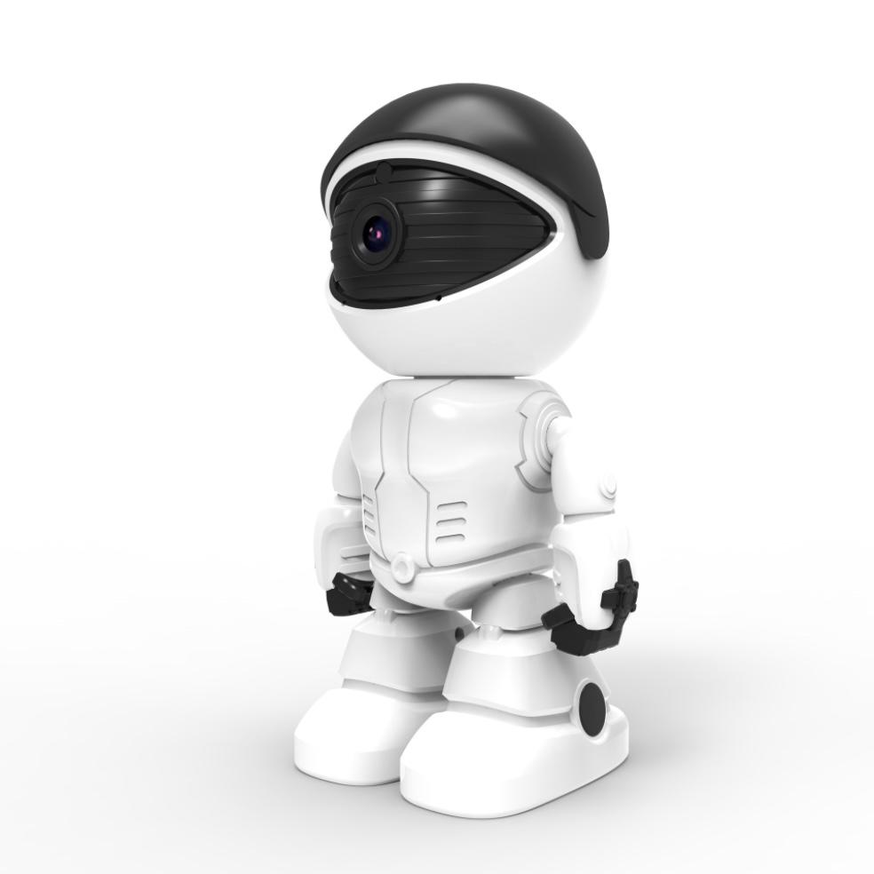 Camera mô hình robot đàm thoại 2 chiều 1080p