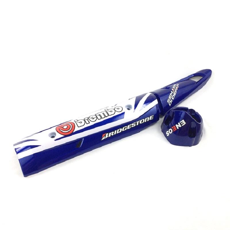 Ốp Pô Exciter 150 (màu xanh)