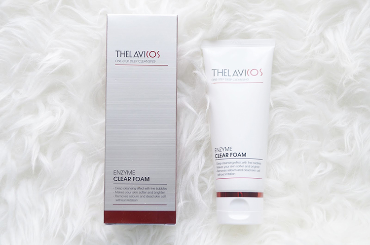 Gel Rửa Mặt Thelavicos Enzyme Clear Foam (100ml)