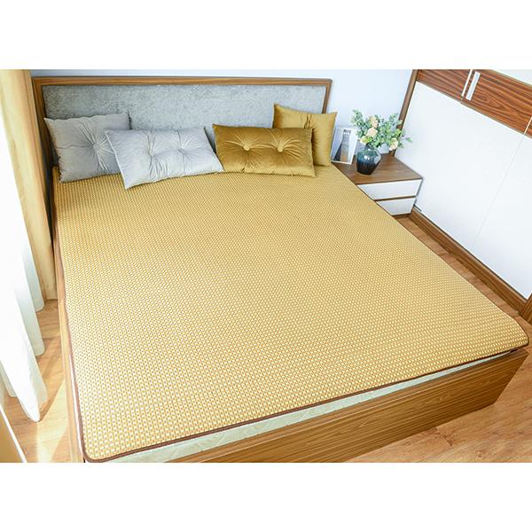 Thảm mây đan điều hòa C20M1 lót sàn lót giường êm mát trang trí nội thất