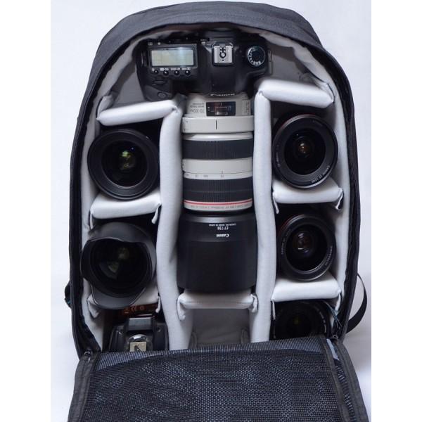 Balo Máy Ảnh Bags Designer Full Photo 43l (màu đen) - Hàng Chính Hãng