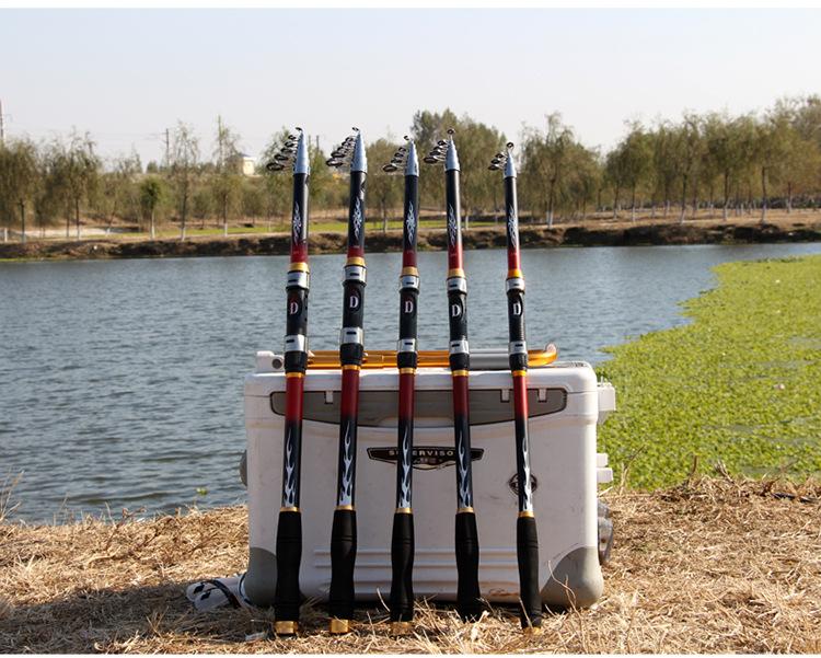 Bộ cần câu cá carbon - kèm máy cao cấp - Máy 5000 - Tặng kèm nhiều phụ kiện BCC23