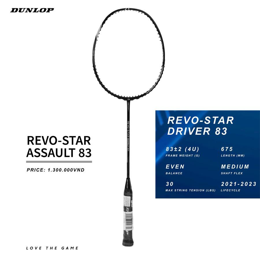 Vợt cầu lông Dunlop Revo Star Driver 83 - Vợt cân bằng
