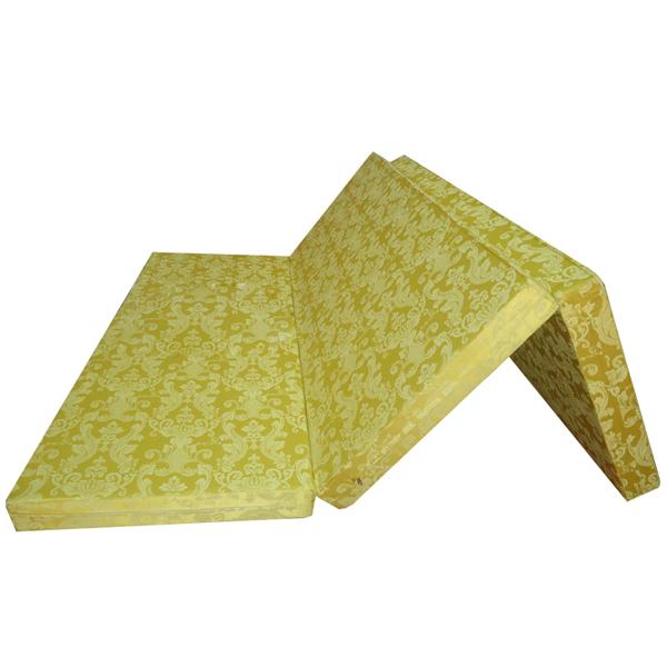 Đệm bông ép Korea dày 10cm - Nhiều màu, đủ kích thước, giao màu ngẫu nhiên.