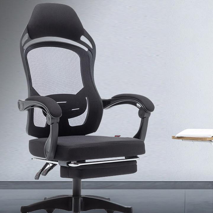 Ghế văn phòng lưng lưới cao cấp màu trắng