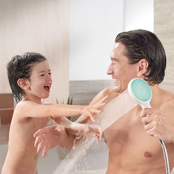 Tay sen tắm  Cao Cấp  GENIE  AMERICAN STANDARD  - Thiết Kế  120 Tia nước đặc biệt nhẹ nhàng với làn da trẻ em - Hàng chính hãng