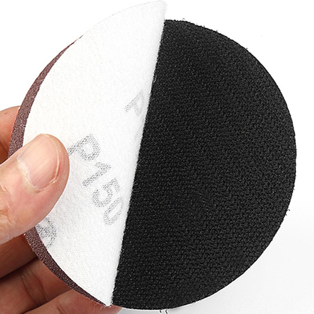 Bánh chà nhám đánh bóng mài bóng tròn 4 inch