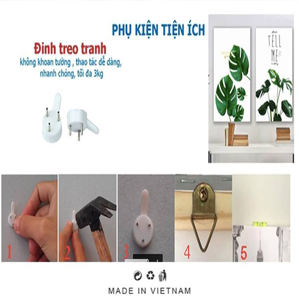 Tranh Treo 3D Phòng Khách |Giả Ngọc |T3M-21001