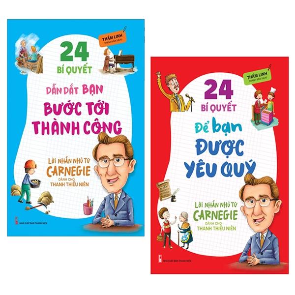 Combo Lời Nhắn Nhủ Từ Carnegie Dành Cho Thanh Thiếu Niên (Bộ 2 Cuốn)