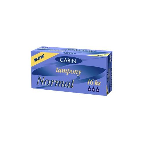 Combo Carin tampon normal + BVS hàng ngày Carin Slip Anomic Super Comfort 45