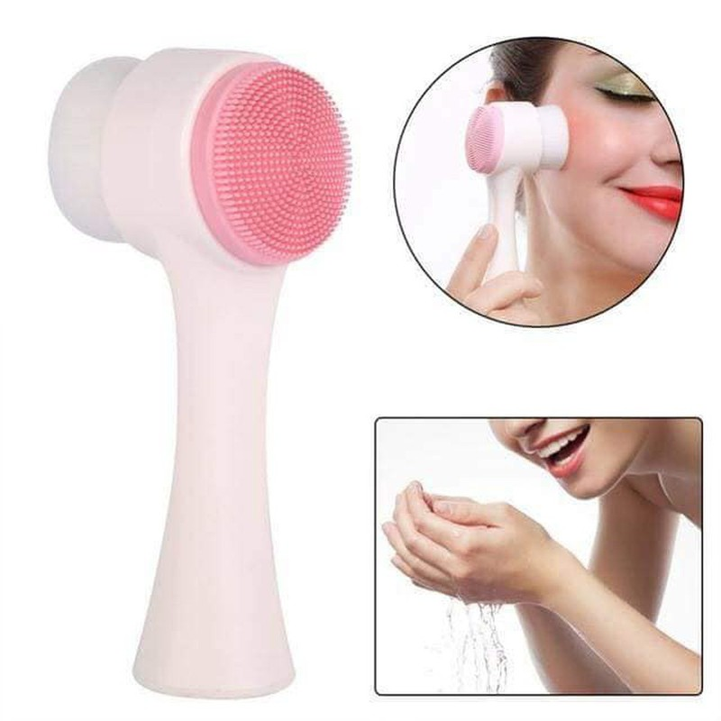 Cọ rửa mặt cầm tay massage 3D