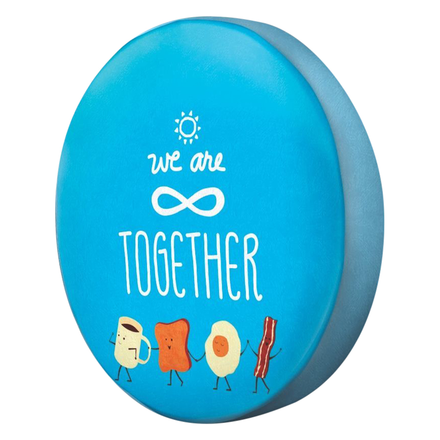Gối Ôm Tròn We Are Together GOTE086