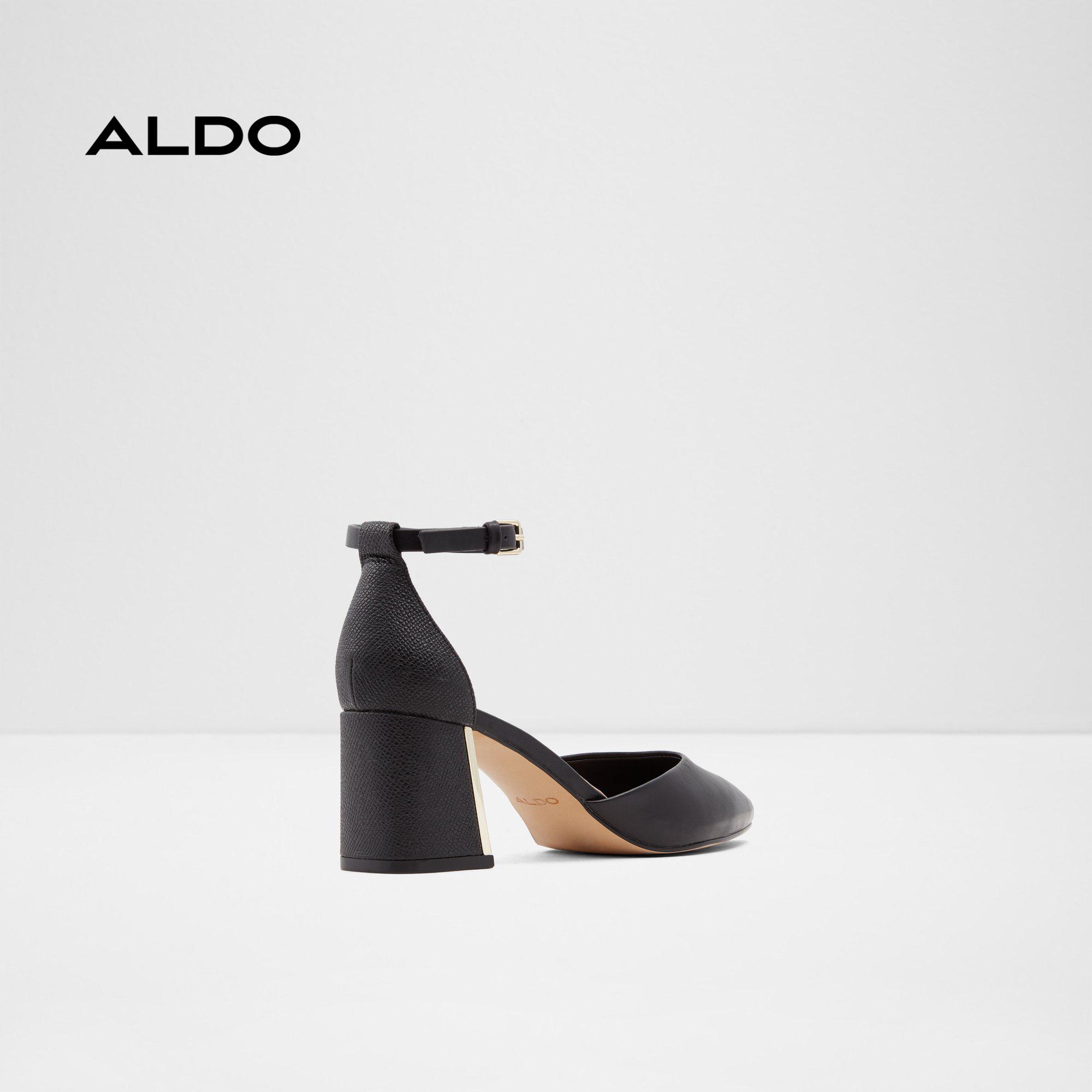 Giày cao gót nữ gót vuông ALDO GRYMA