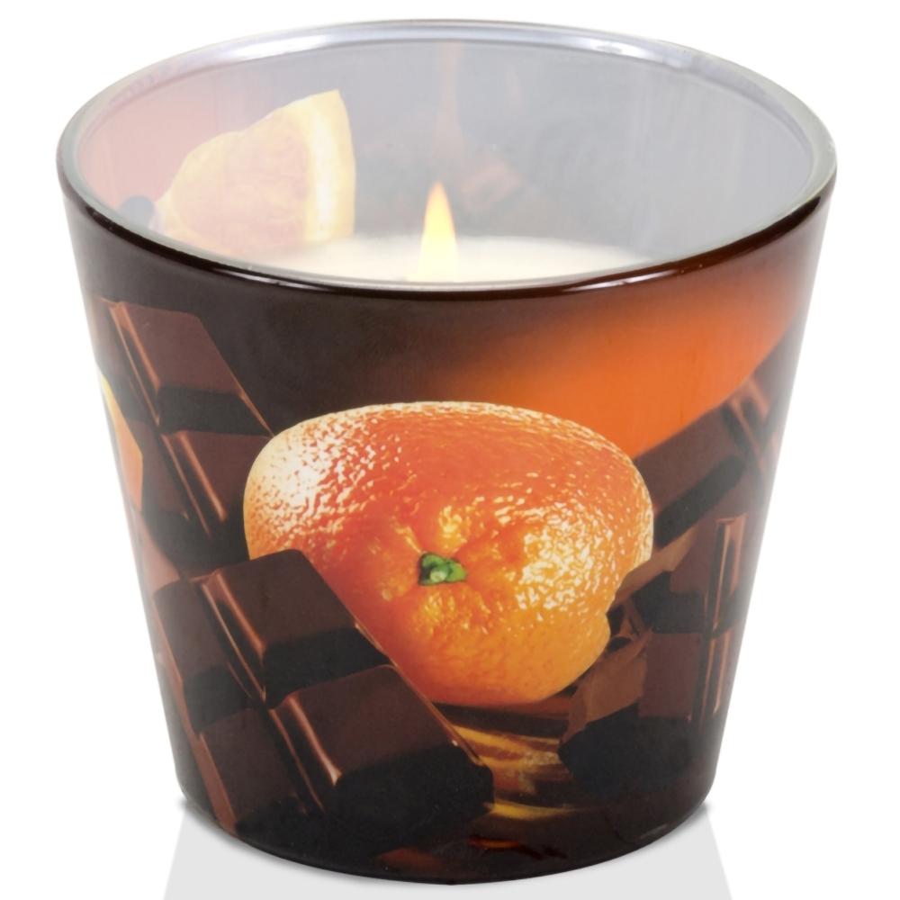 Ly nến thơm tinh dầu Bartek Chocolate 115g QT3575 - sôcôla anh đào, cam ngọt (giao mẫu ngẫu nhiên)