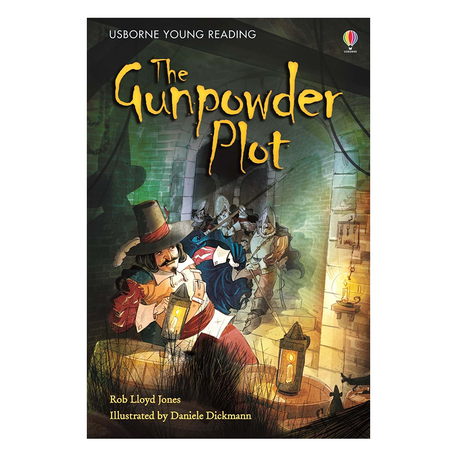 Usborne Young Reading Series Two: The Gunpowder Plot