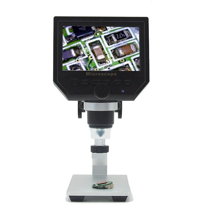 Kính hiển vi điện tử 600X màn hình 4.3inch cao cấp chuyên dụng