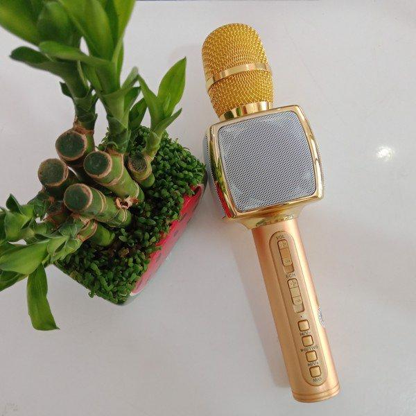 Micro Kiêm loa Bluetooth hát Karaoke SD-16( màu ngẫu nhiên) - hàng chính hãng