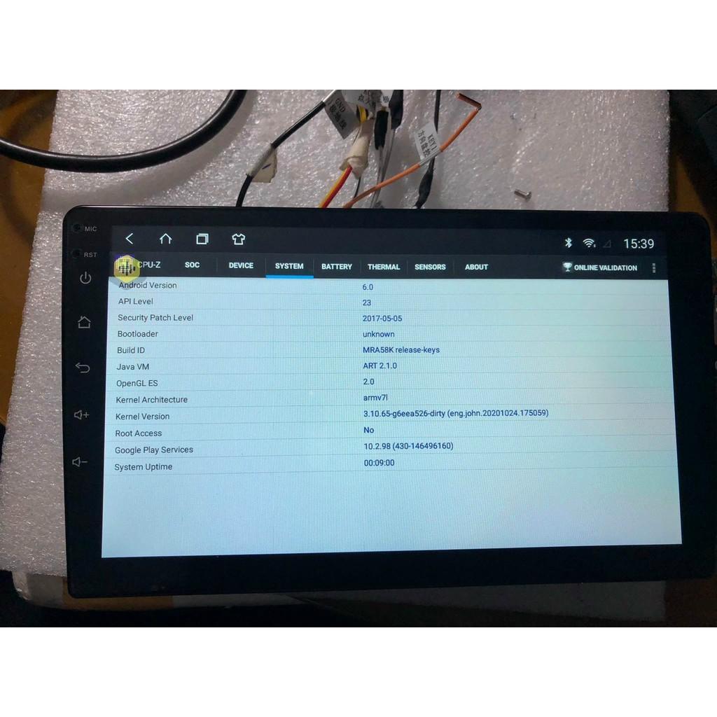 Màn hình Dvd Android 9 inch RAM 2G ROM 32G bảo hành 12 tháng