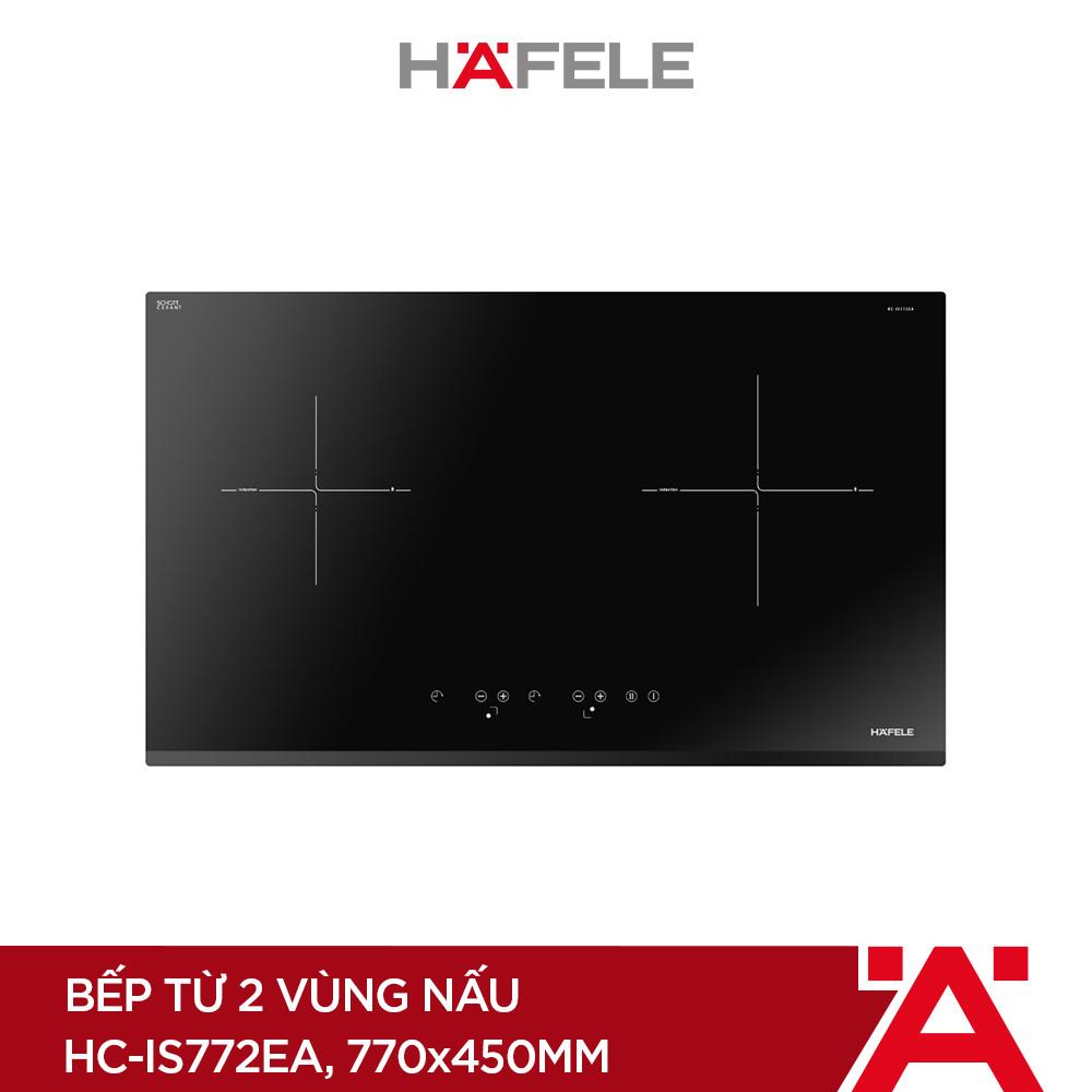 [PROMO] Máy Hút Mùi Âm Tủ HH-TI60D (60cm) + Bếp Từ 2 Vùng Nấu HAFELE 770x450mm HC-IS772EA ( Hàng chính hãng )