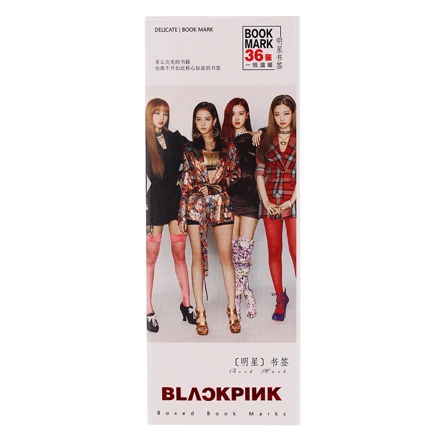 Bộ Bookmark Ban Nhạc Blackpink