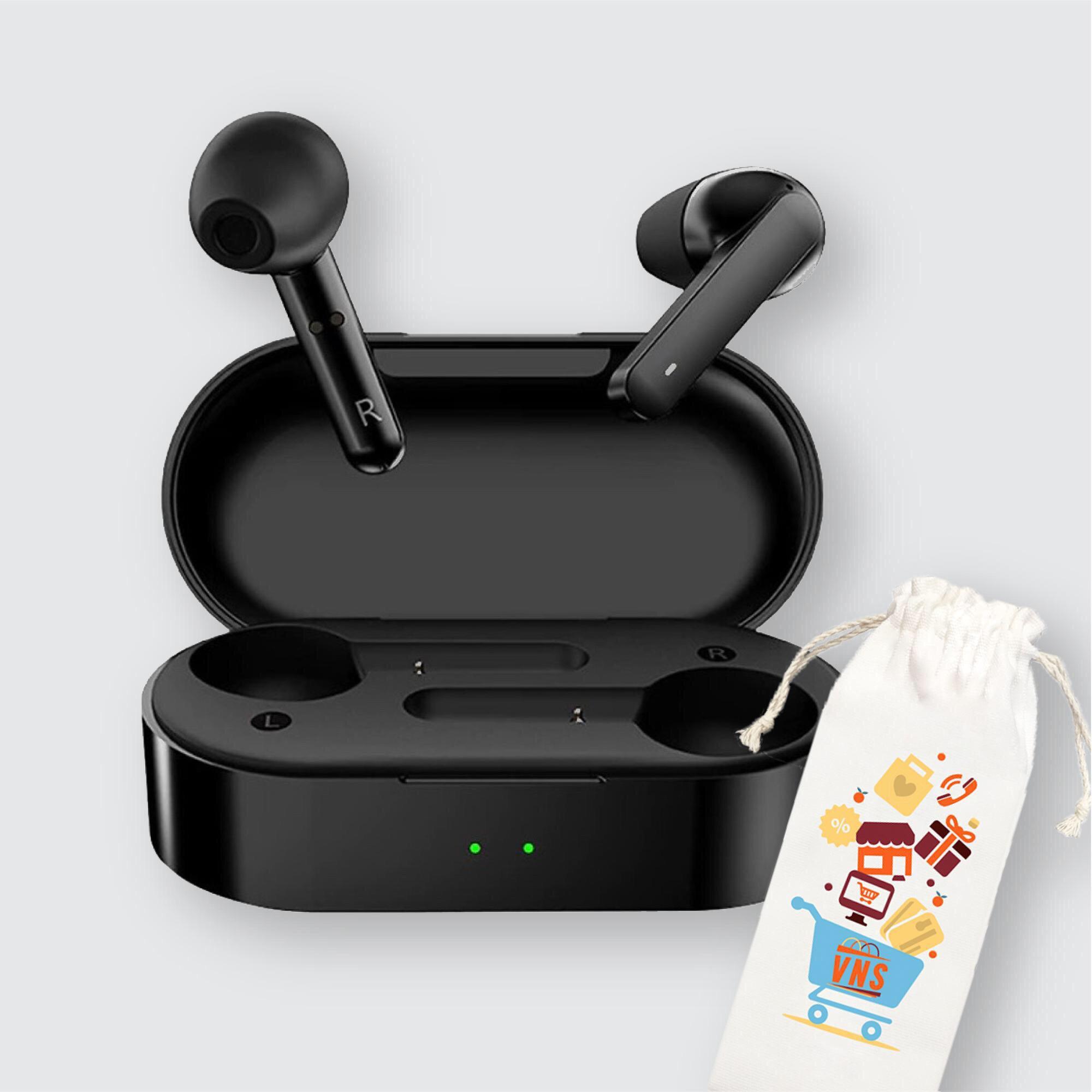 Tai Nghe Bluetooth 5.0 Đàm Thoại Không Dây True Wireless QCY T3 Có Dock Tự Sạc Thế Hệ Mới - Hàng chính hãng