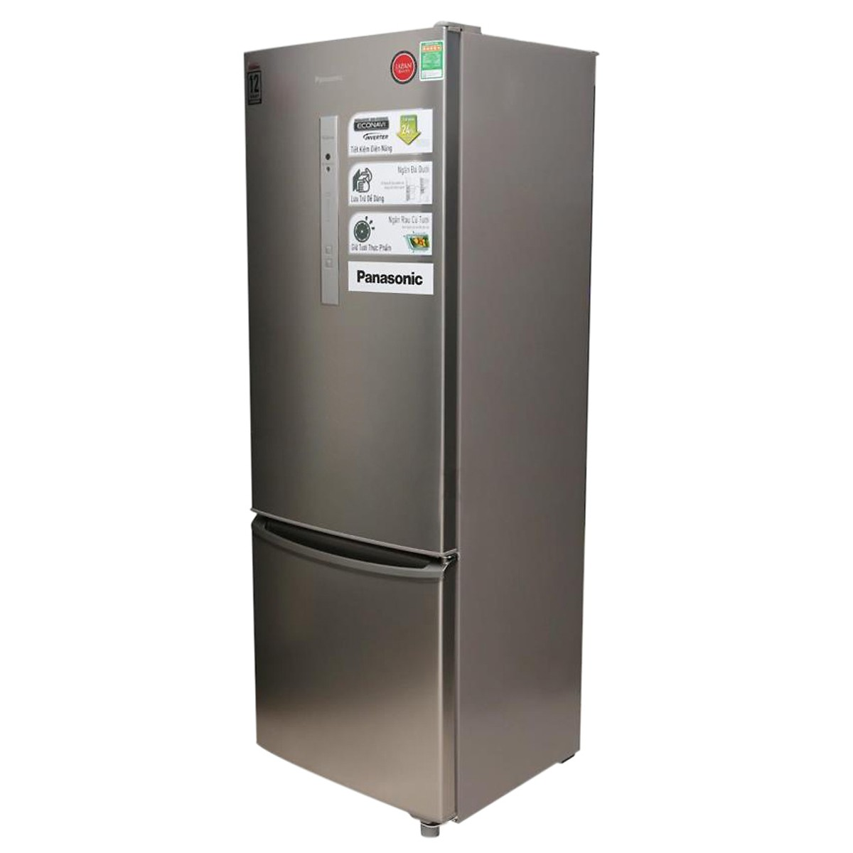 Tủ Lạnh Panasonic NR-BR347ZSVN (308 Lít) - Hàng Chính Hãng