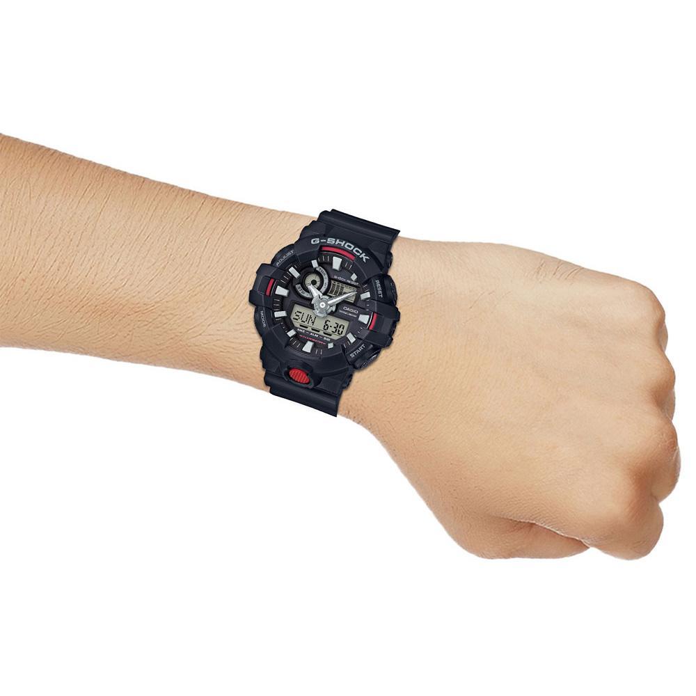 Đồng hồ nam dây nhựa Casio G-SHOCK GA-700-1ADR
