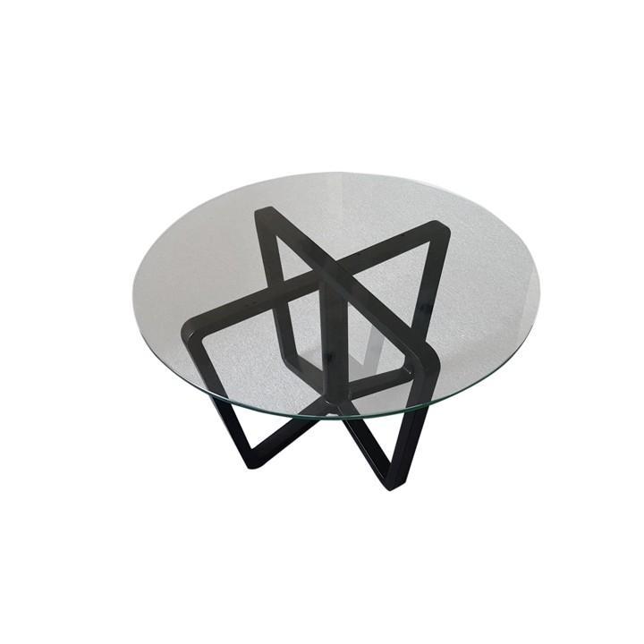 Bàn trà sofa mặt kính cường lực cho nội thất phòng khách (bàn trà Eddy-bmd)
