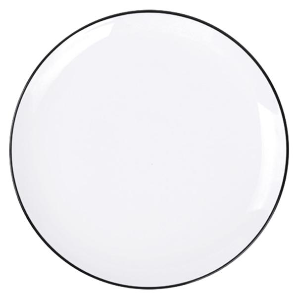 Combo 2 Đĩa Nordic Sense sứ trắng bóng