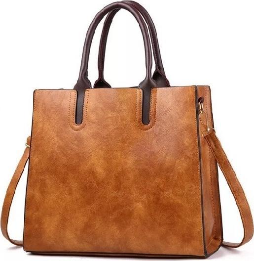 Túi xách tay nữ công sở mẫu form đứng 2019, có dây đeo chéo - Da bò