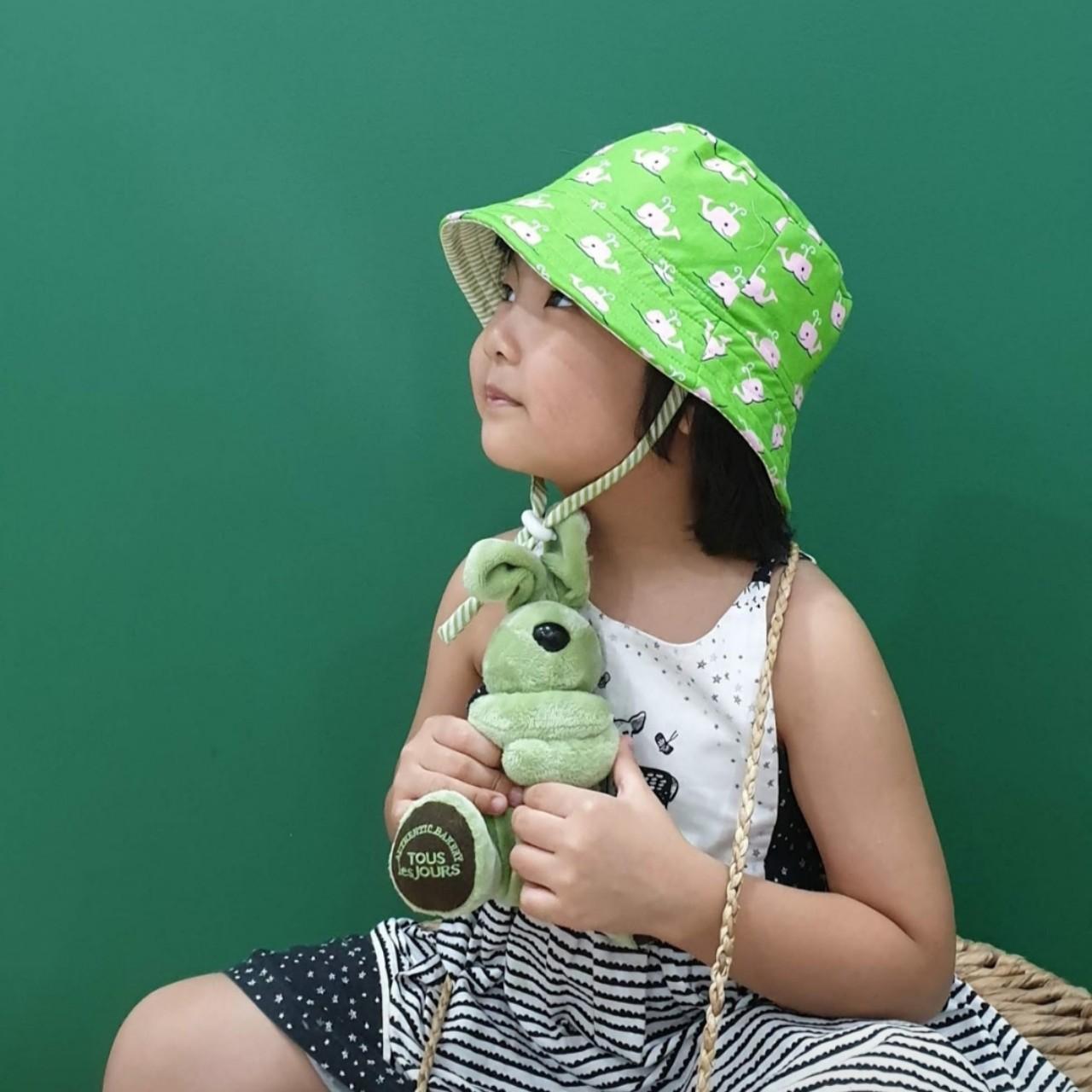 Mũ tai bèo, mũ tròn rộng vành, bucket ngộ nghĩnh đáng yêu cho bé từ 0 - 12 tuổi . Mũ đội 2 mặt chống nắng, tia UV đi biển, dã ngoại