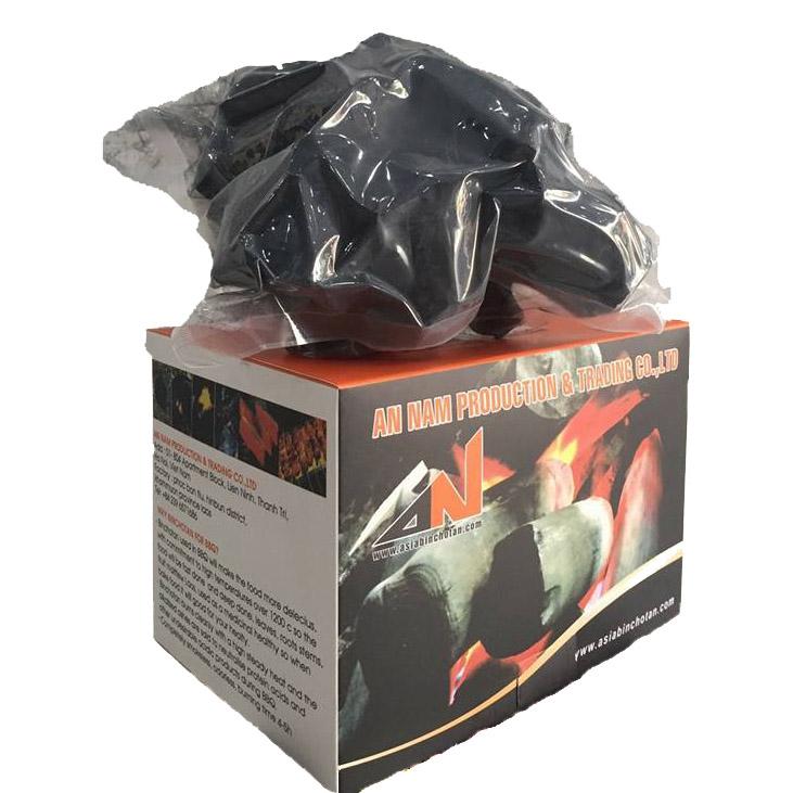 Than nướng không khói Binchotan (Binchotan Charcoal for BBQ) Hộp 1kg