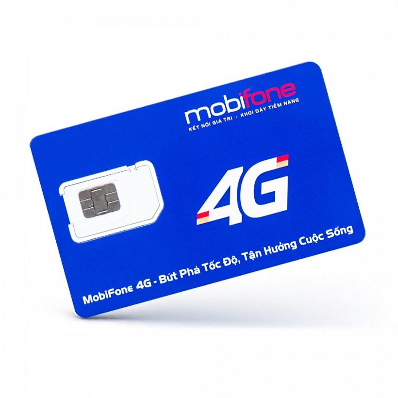 SIM 4G Mobifone MDT150A Tặng Ngay 150GB/Tháng Không Bị Chia Nhỏ Theo Ngày, Không Giới Hạn Thời Gian Sử Dụng - Màu ngẫu nhiên