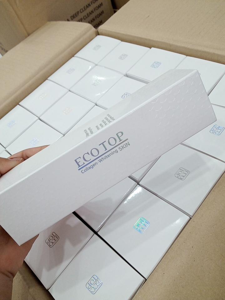 Nước hoa hồng collagen dưỡng trắng da Ecotop Collagen Whitening Skin 150ml