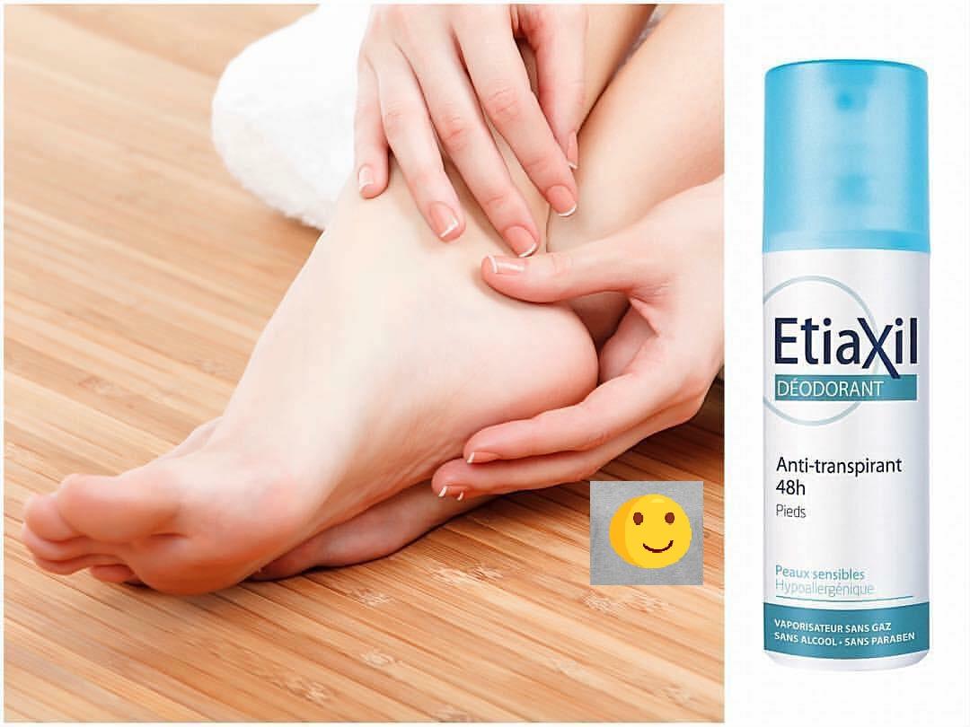 Xịt Khử Mùi Giảm Mồ Hôi Chân Etiaxil Deodorant Anti-Transpirant 48h Pieds 100ml