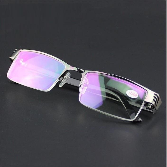 Kính cận thị gọng hợp kim titan mắt kính đổi màu KDN -KCM10