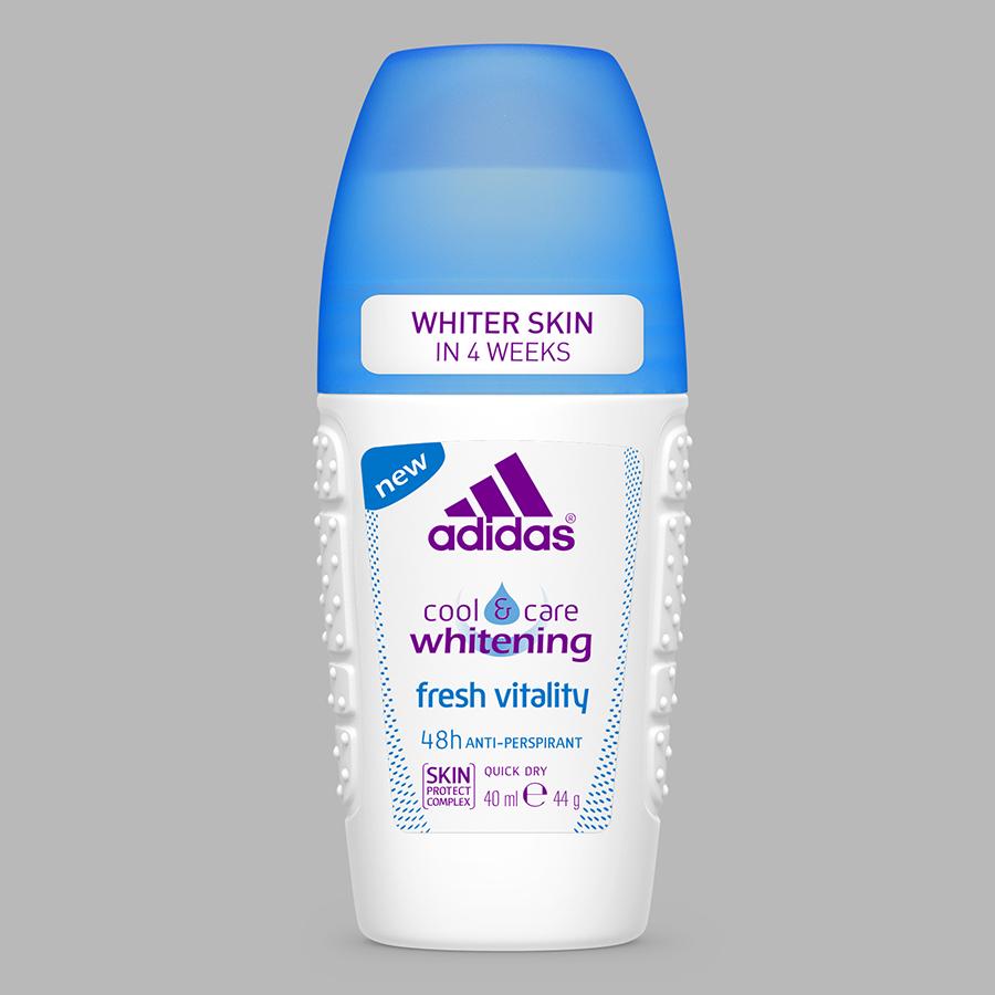 Lăn Khử Mùi Nữ Ngăn Mồ Hôi Adidas Fresh White 40ml