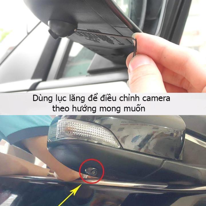 Camera cạp lề gắn gương chiếu hậu ô tô, xe hơi cao cấp YSJ-0176